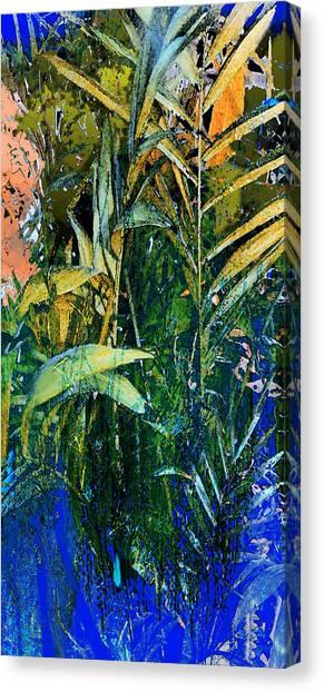 Feet In The Water Canvas Print by Anne Weirich
