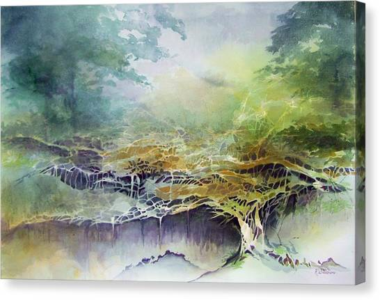 Felon Wood Canvas Print