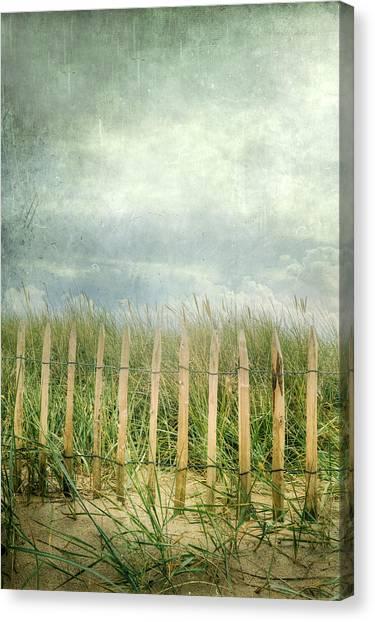 Gate Canvas Print - Fence by Joana Kruse