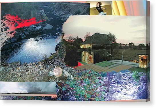 Ferndale Moon Jump Canvas Print
