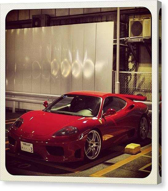 Ferrari Canvas Print - #ferrari #f360 #f1 #cavallinorampante by 🅿💀r1⃣©⚠◀ Qu1⃣5⃣p3⃣l