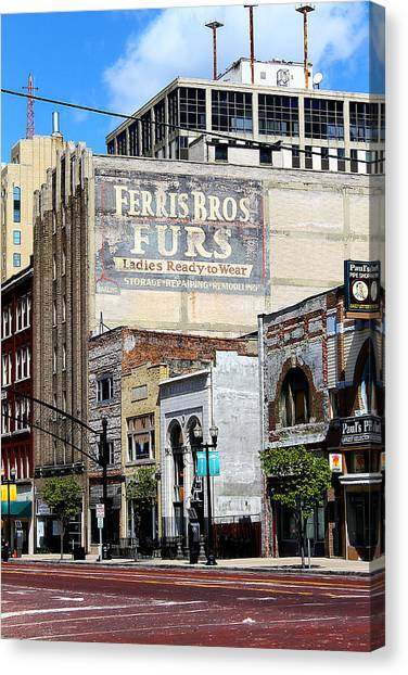Ferris Brothers Furs Canvas Print