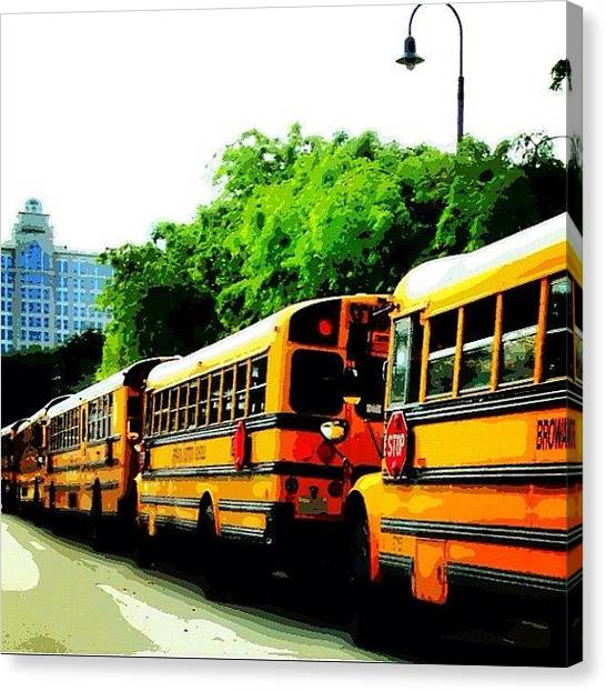 Schools Canvas Print - Field Trip To #mods. #fortlauderdale by Lauderdale Ashley