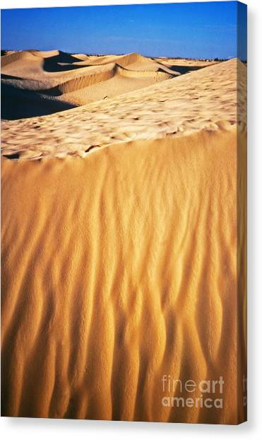 Fiery Desert I Canvas Print