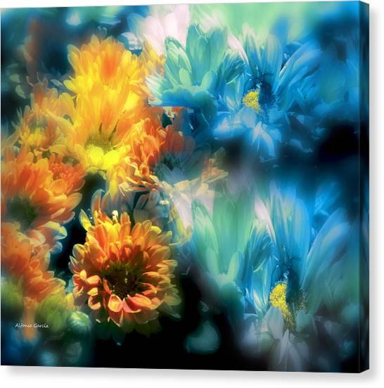 Fiesta Floral Canvas Print