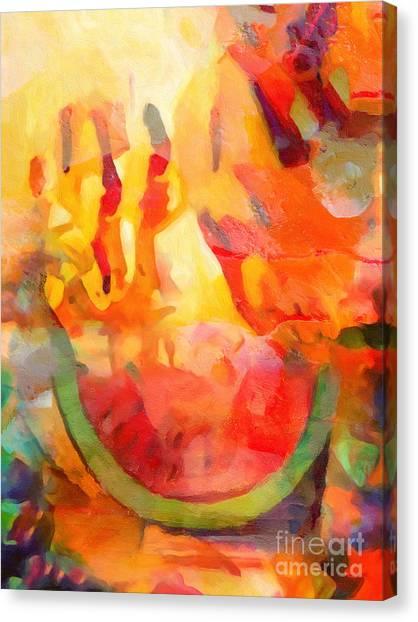 Colorplay Canvas Print - Fiesta by Lutz Baar
