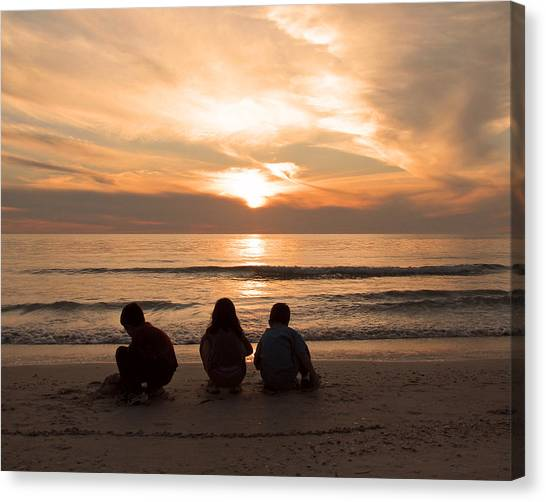 Final Touch Canvas Print