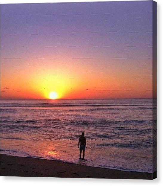 Ocean Sunrises Canvas Print - Find My Pics On #instaprints by Alexandr Dobrovan