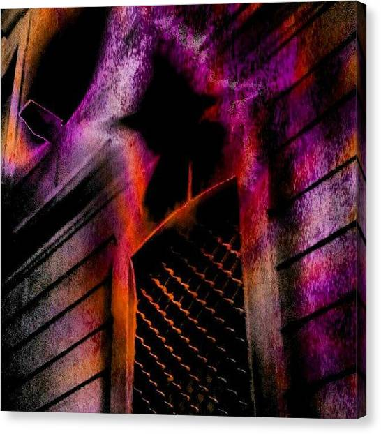 Horror Canvas Print - Finestra by Fausto Luigi Cima