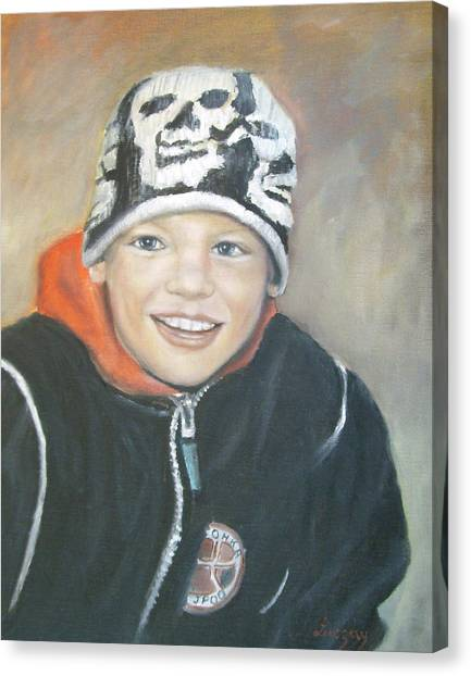 Finnish Boy Commission Canvas Print