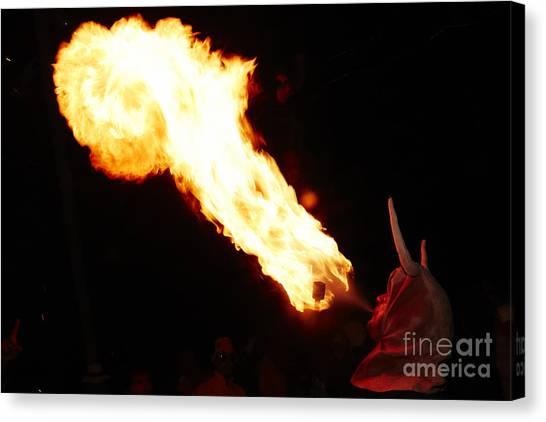 Fire Axe Canvas Print