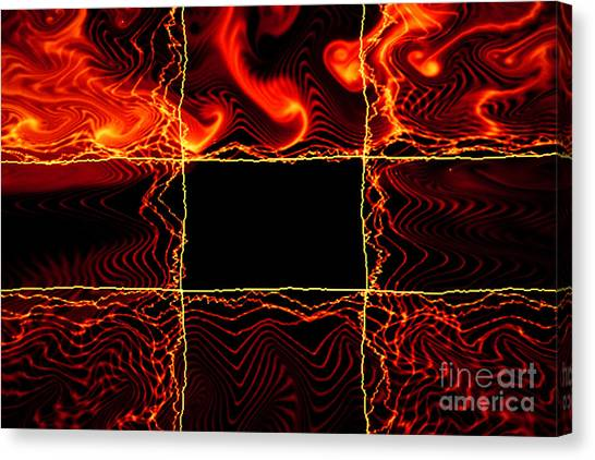 Fire Box Canvas Print by Tashia Peterman