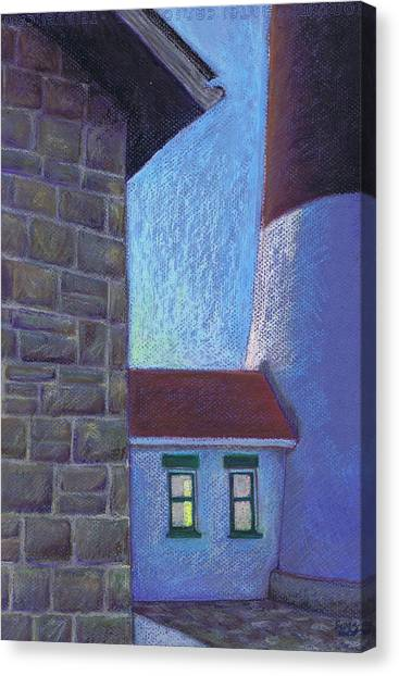 Fire Island Lighthouse Sunset Canvas Print