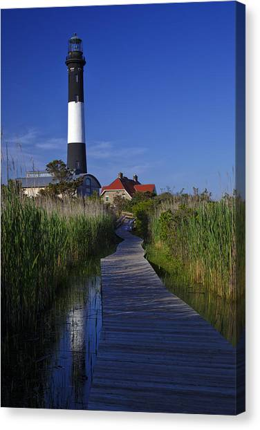 Fire Island Reflection Canvas Print