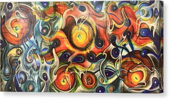 Fire Of My Soul Canvas Print