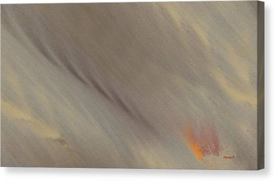 Fire-under Canvas Print by Ines Garay-Colomba