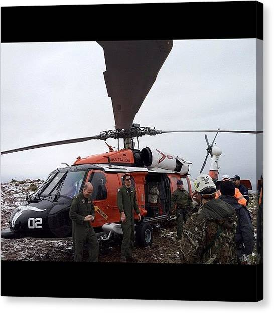 Helicopters Canvas Print - #firefighter #iaff #class #tech #rescue by James Crawshaw
