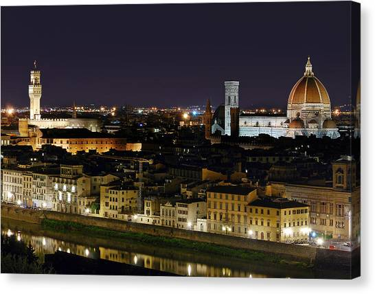 Firenze Skyline Canvas Print