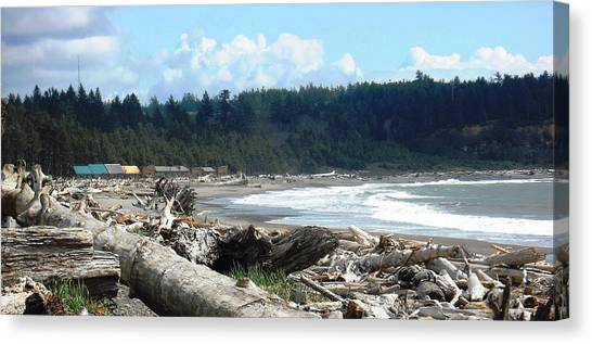 First Beach La Push Canvas Print