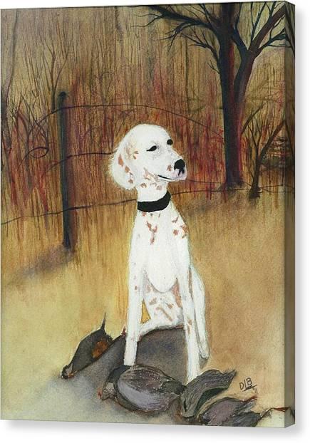 First Hunt Canvas Print by David Bartsch