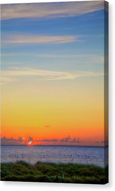 First Light Canvas Print by William Wetmore