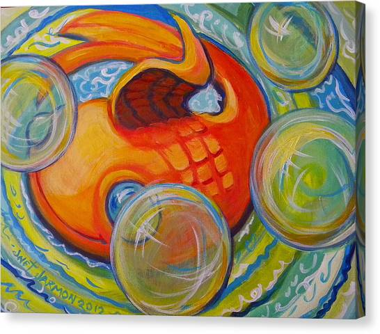 Fish Fun Canvas Print