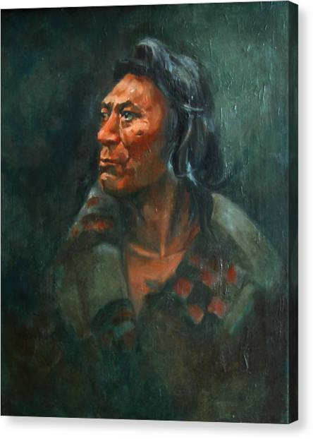 Fish Hawk Canvas Print