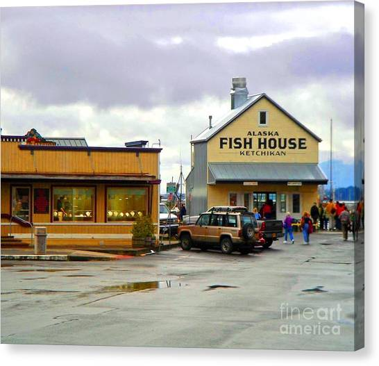 Fish House Canvas Print