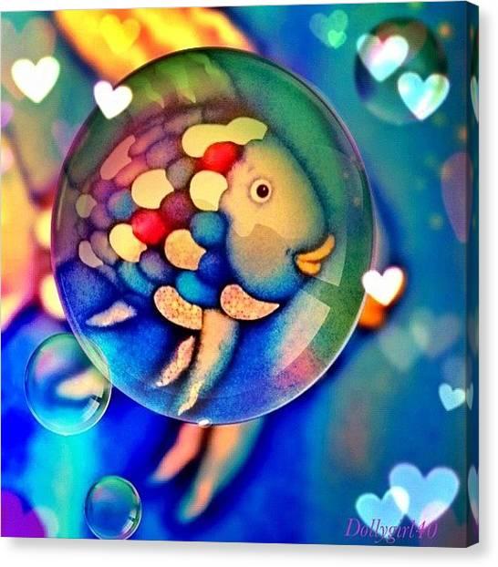 Fish Canvas Print - #fish#art#iphone3g #iphonesia by Amanda Wignall