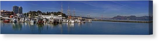 Fisherman's Wharf Canvas Print