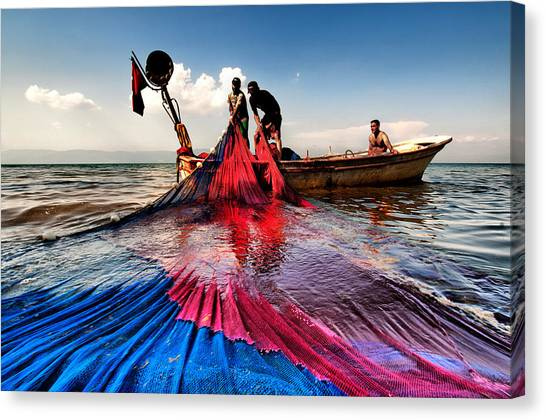 Fishing - 11 Canvas Print