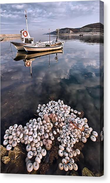 Fishing - 7 Canvas Print