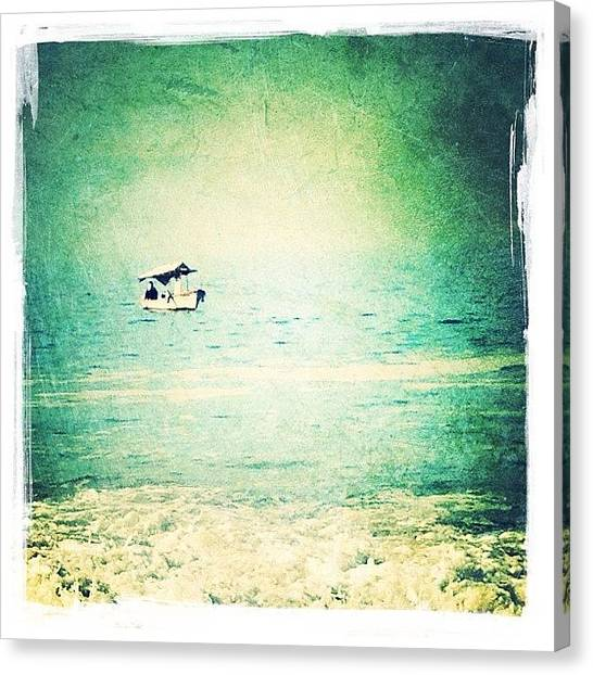 Fishing Canvas Print - Fishing Boat by Natasha Marco