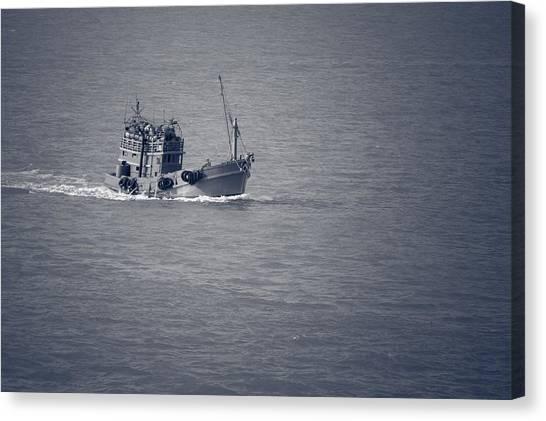 Fishing Vessel Canvas Print
