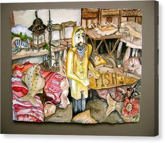 Fishy Stuff Canvas Print by Laurel Fredericks