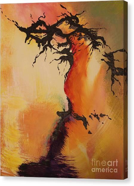 Fisure Canvas Print by Carolyn Weir