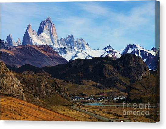 Fitz Roy Canvas Print by Bernard MICHEL