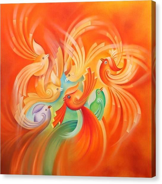 Flayer Canvas Print by Mohsen Mousavi