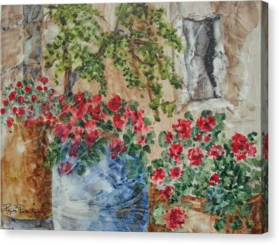 Fleurs De France Canvas Print