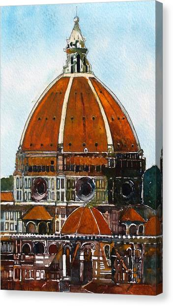 Florence Cathedral Canvas Print by David Carlson