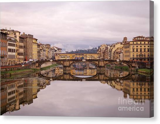 Florence Reflections Canvas Print