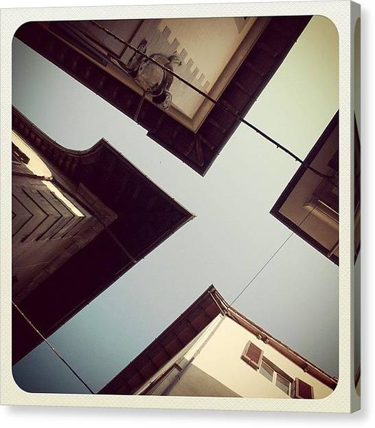Angle Canvas Print - Florence Roofs. #cornered by Christopher Hughes