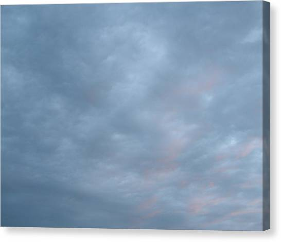 Florida Sky II Canvas Print by Suzanne Fenster