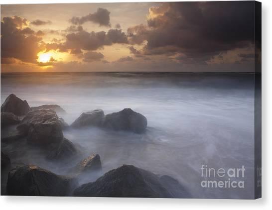 Florida Sunrise Canvas Print by Keith Kapple