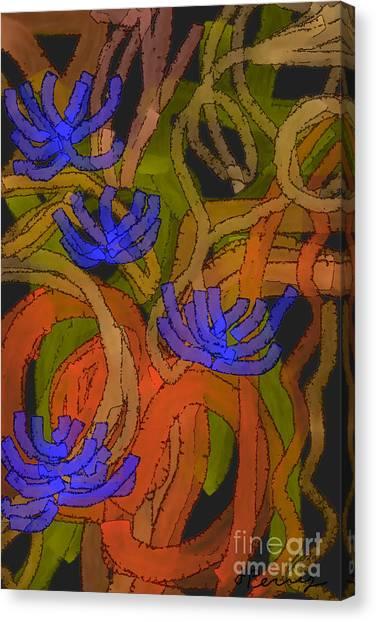 Flourishes Canvas Print
