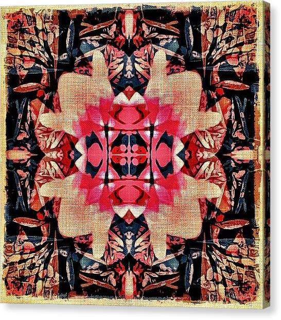 Big Sky Canvas Print - Flower Reconstruction - Another Twist by Photography By Boopero