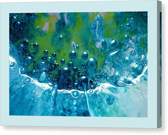 Fluidism Aspect 52 Frame Canvas Print