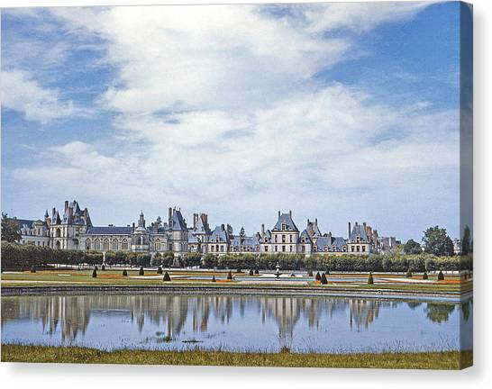 Fontainebleau Palace  Canvas Print