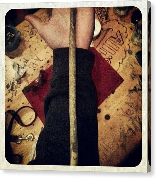 Marijuana Canvas Print - Foot Long Raw Joint.  #footlongjoint by Max Butler