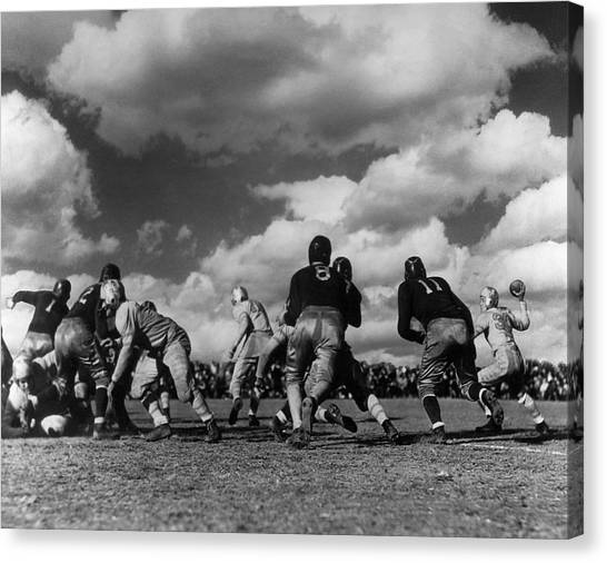 Football Game Canvas Print by George Marks